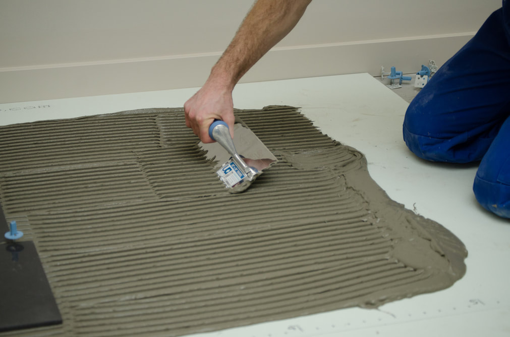 ubernotch tiling trowel combing thinset